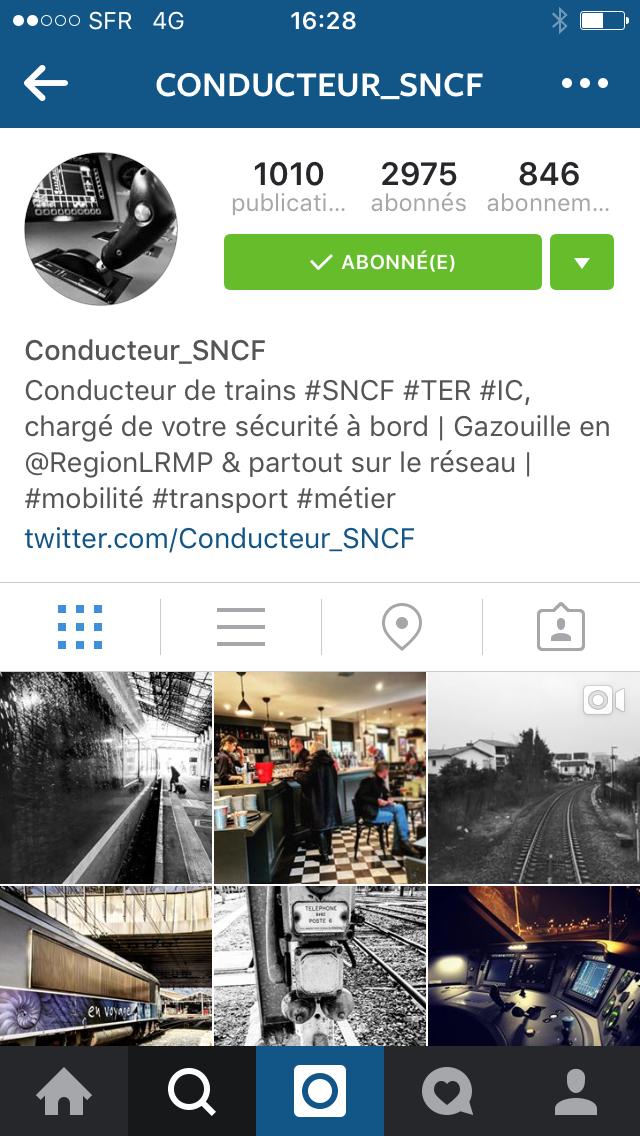 Spécialiste des Réseaux Sociaux et Conducteur de Trains