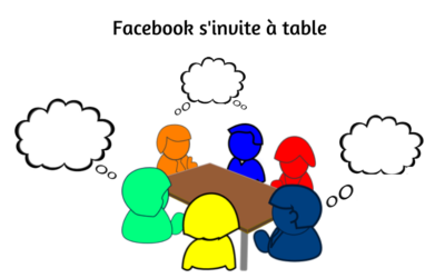 Facebook s'invite à table