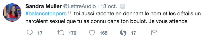Twitter Sandra Muller