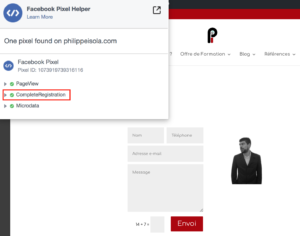 Facebook Pixel Verification