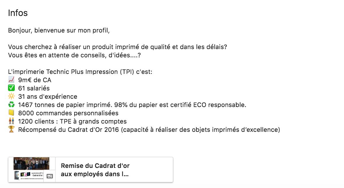 Patrice Lancien Résumé Linkedin