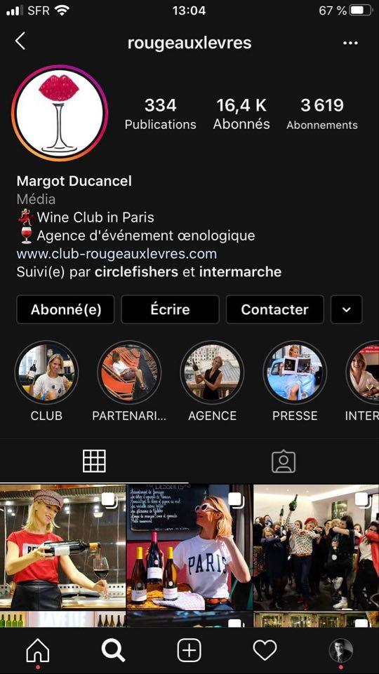 Rouge aux Lèvres Instagram