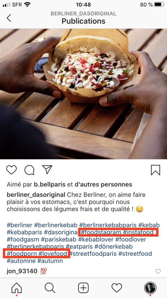 hashtags generiques instagram