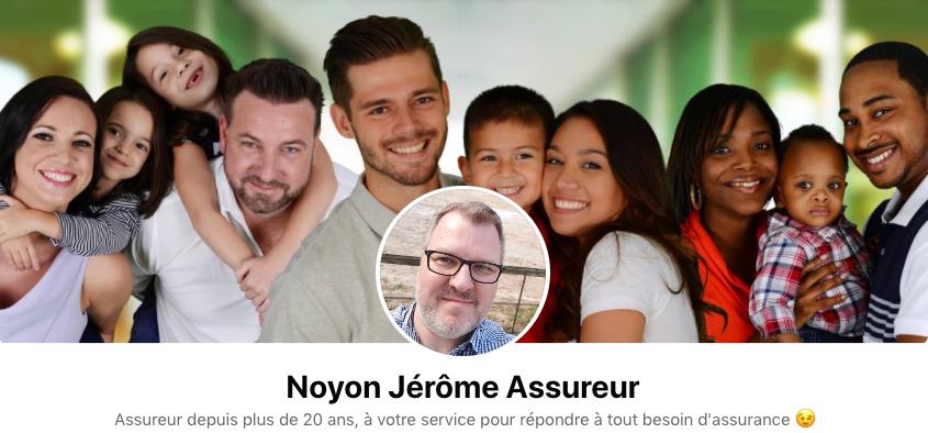 Jérôme Noyon Assureur Profil Facebook